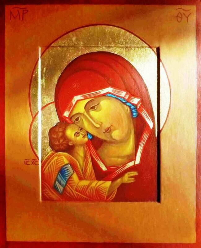Icons of Mother of God / the Blessed Virgin Mary