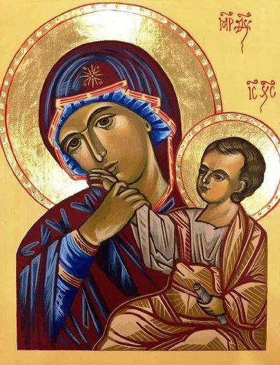 Icon of Mother of God Paramythia