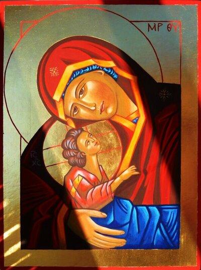 Gottesmutter Ikonen